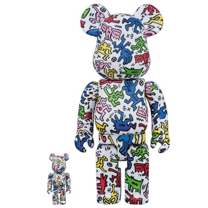 BE@RBRICK KEITH HARING 100% & 400%《Planned to be shipped in late January 2018》