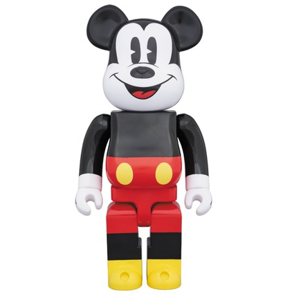 BE@RBRICK MICKEY MOUSE 400%《Planned to be shipped in late February 2018》
