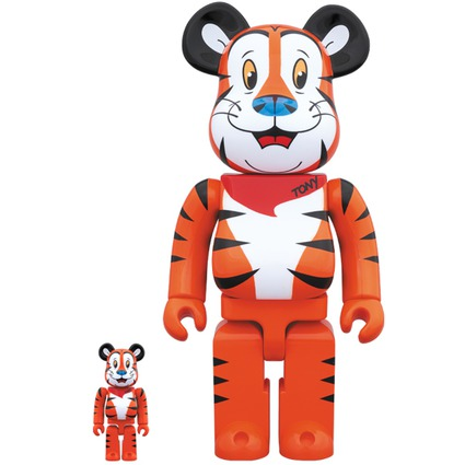 BE@RBRICK TONY THE TIGER 100% & 400%《Planned to be shipped in late February 2019》