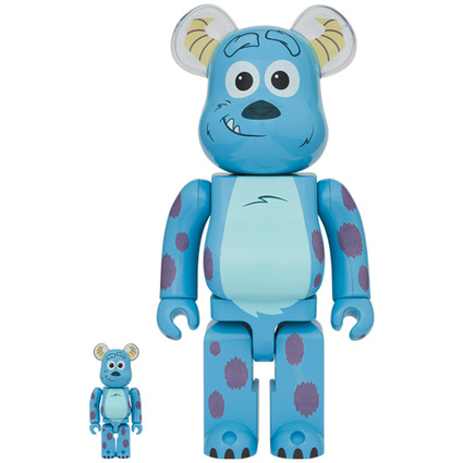 BE@RBRICK SULLEY 100% & 400%《Planned to be shipped in late March 2021》
