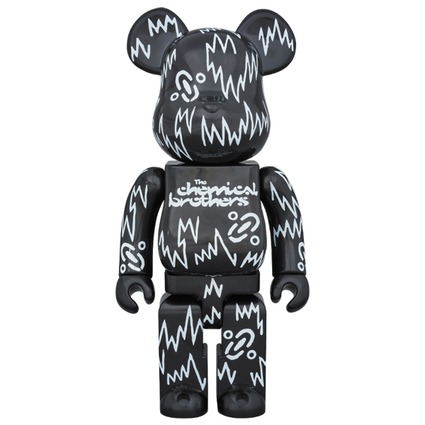 BE@RBRICK The Chemical Brothers 400%《Planned to be shipped in late December 2017》