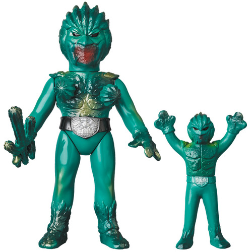 Sabotegron(Counterattack Ver. with Cactus bomb) & Sabotegron(Mini Sofubi) (WONDER FESTIVAL Memorial item) 《Planned to be shipped in late June 2019》