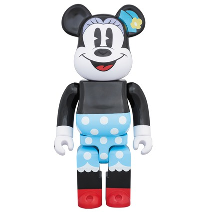 BE@RBRICK MINNIE MOUSE 400%《Planned to be shipped in late February 2018》