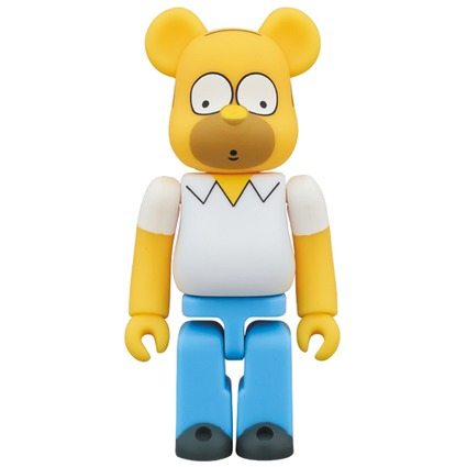 BE@RBRICK HOMER SIMPSON 100%《Planned to be shipped in late March 2018》