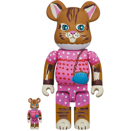 BE@RBRICK Nathalie Lete Minette 100% & 400%《Planned to be shipped in late January 2021》