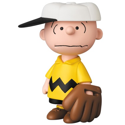UDF PEANUTS Series 6 BASEBALL CHARLIE BROWN《Planned to be shipped in late October 2017》