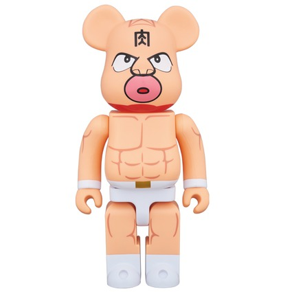 BE@RBRICK  Kinnikuman 400%《Planned to be shipped in late December 2017》