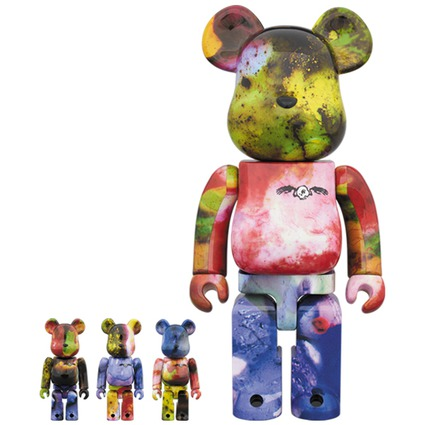 BE@RBRICK PUSHEAD 3 different colors 100% & 400% 4 PC SET《Planned to be shipped in late November 2018》