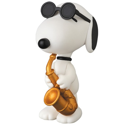 UDF PEANUTS Series 6 SAXOPHONE PLAYER SNOOPY《Planned to be shipped in late October 2017》