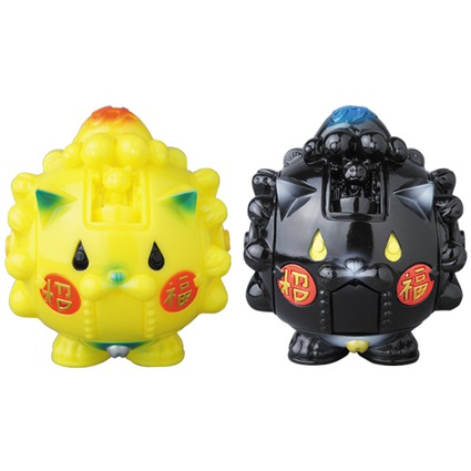 Manekimakurima Robot YELLOW・BLACK《Planned to be shipped in late November 2016》//ENGIMONO DEPARTMENT STORE