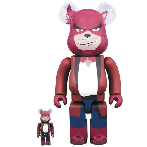BE@RBRICK Kumatetsu 100% & 400%《Planned to be shipped in late December 2017》
