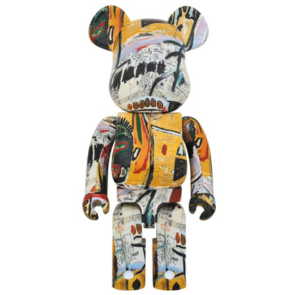 BE@RBRICK JEAN-MICHEL BASQUIAT 1000%《Planned to be shipped in late December 2017》