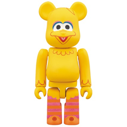BE@RBRICK BIG BIRD 100%《Planned to be shipped in late August 2017》