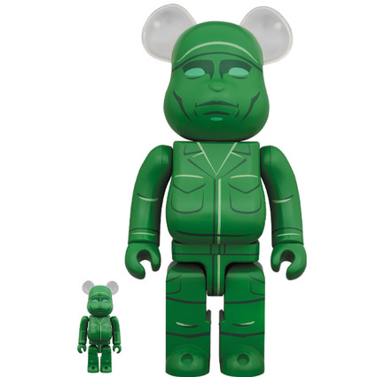 BE@RBRICK GREEN ARMY MEN 100% & 400%《Planned to be shipped in late February 2020》