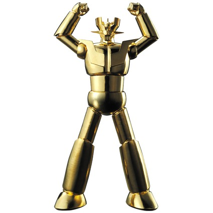 Solid Gold Mazinger Z(Large)《Planned to be shipped in late July 2017》