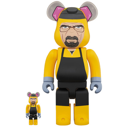 BE@RBRICK Breaking Bad Walter White (Chemical Protective Clothing Ver.) 100% & 400%《Planned to be shipped in late June 2020》