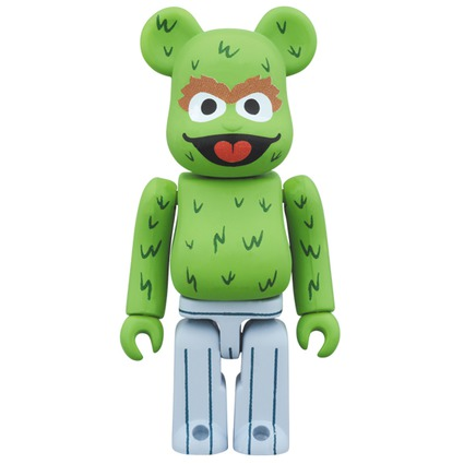 BE@RBRICK OSCAR THE GROUCH 100%《Planned to be shipped in late August 2017》
