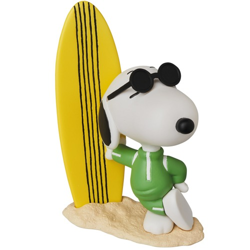 UDF PEANUTS Series 8 JOE COOL SNOOPY w/ SURFBOARD《Planned to be shipped in late September 2018》