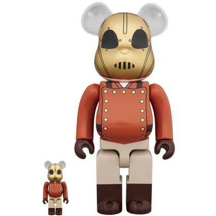 BE@RBRICK ROCKETEER 100% & 400%《Planned to be shipped in late January 2019》