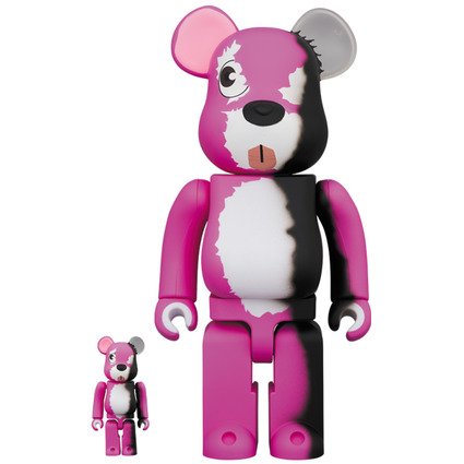 BE@RBRICK Breaking Bad Pink Bear 100% & 400%《Planned to be shipped in late June 2020》