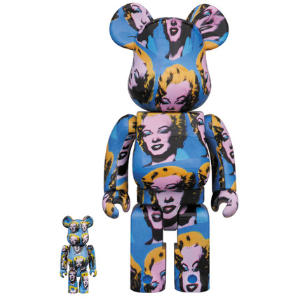 Andy Warhol's Marilyn Monroe BE@RBRICK 100% & 400%《Planned to be shipped in late June 2020》