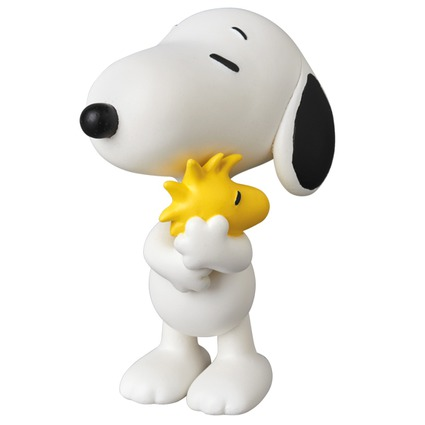 UDF PEANUTS SERIES 7 SNOOPY HOLDING WOODSTOCK《Planned to be shipped in late February 2018》