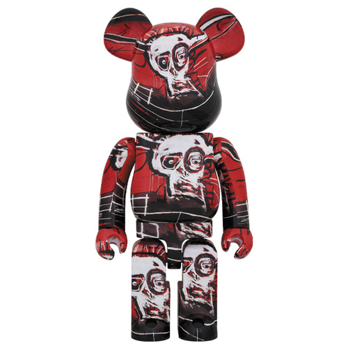 BE@RBRICK JEAN-MICHEL BASQUIAT #5 1000%《Planned to be shipped in late July 2020》
