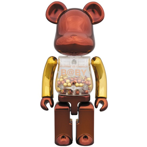 Super alloyed MY FIRST BE@RBRICK B@BY Steampunk Ver.