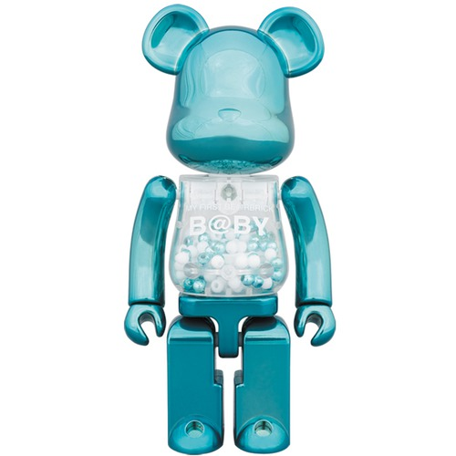 Super alloyed MY FIRST BE@RBRICK B@BY Turquoise Ver.