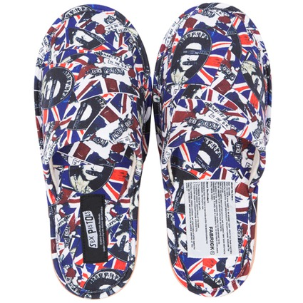 MLE SEX PISTOLS God Save The Queen 2 SLIPPERS
