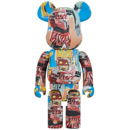 BE@RBRICK JEAN-MICHEL BASQUIAT #6 1000%《Planned to be shipped in late October 2020》