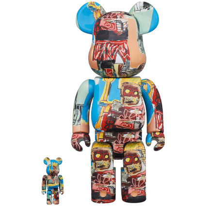 BE@RBRICK JEAN-MICHEL BASQUIAT #6 100% & 400%《Planned to be shipped in late October 2020》