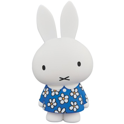 UDF Dick Bruna(series 2)  Miffy in a floral dress《Planned to be shipped in late August 2018》