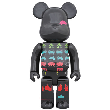 BE@RBRICK SPACE INVADERS 400%《Planned to be shipped in late August 2019》