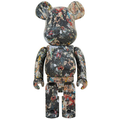 BE@RBRICK Jackson Pollock Studio Ver.2.0 1000%《Planned to be shipped in late August 2018》