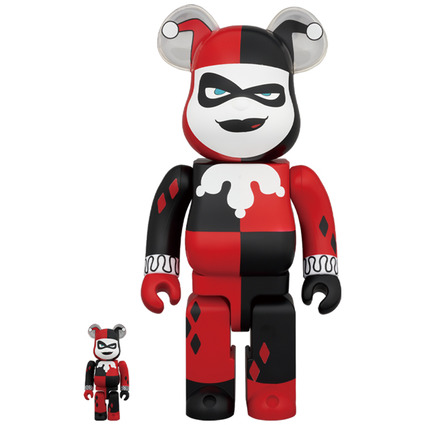 BE@RBRICK HARLEY QUINN (BATMAN The Animated Series Ver.) 100% & 400%《Planned to be shipped in late November 2020》
