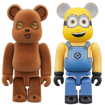 BE@RBRICK TIM & BOB 2PACK《Planned to be shipped in late April 2020》