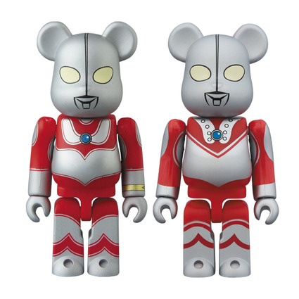 BE@RBRICK Ultraman Jack & Zoffy 2PACK《Planned to be shipped in late May 2019》