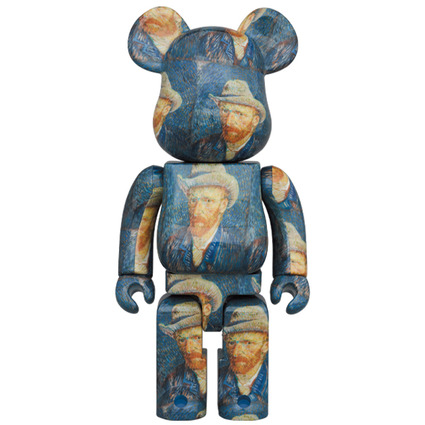BE@RBRICK「Van Gogh Museum」Self-Portrait with Grey Felt Hat 1000%《Planned to be shipped in late December 2020》