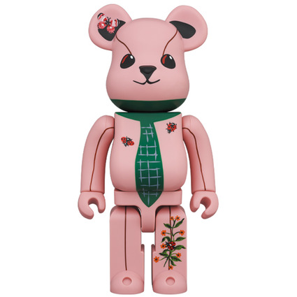 BE@RBRICK Nathalie Lete Ours a la cravate 400%《Planned to be shipped in late December 2020》
