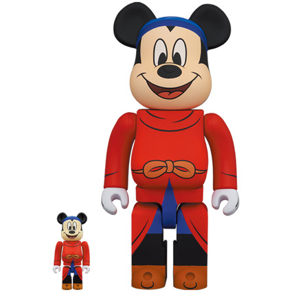 BE@RBRICK FANTASIA MICKEY 100% & 400%《Planned to be shipped in late December 2020》