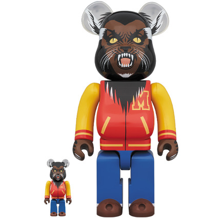 BE@RBRICK Michael Jackson WEREWOLF 100% & 400%《Planned to be shipped in late May 2020》