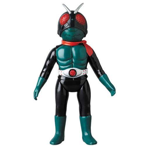 Kamen Rider Kyu 1Go(Sakurajima mask removal Ver.) Middle size《Planned to be shipped in late Apr. 2020》
