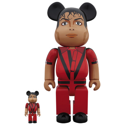 BE@RBRICK Michael Jackson Red Jacket 100% & 400%《Planned to be shipped in late July 2019》