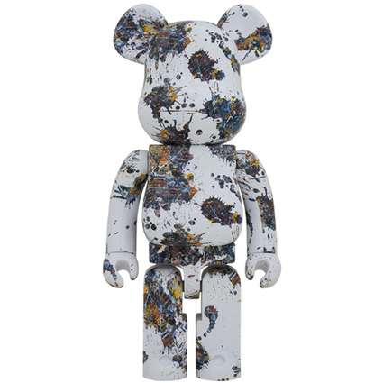 BE@RBRICK Jackson Pollock Studio(SPLASH) 1000%《Planned to be shipped in late January 2021》