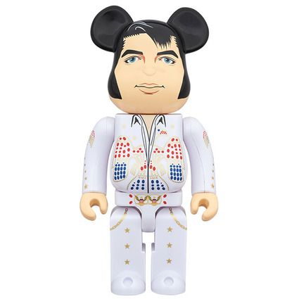 BE@RBRICK ELVIS PRESLEY 1000%《Planned to be shipped in late December 2019》