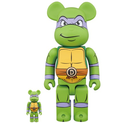 BE@RBRICK DONATELLO 100% & 400%《Planned to be shipped in late July 2018》