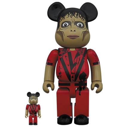 BE@RBRICK Michael Jackson Zombie 100% & 400%《Planned to be shipped in late July 2019》