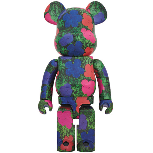"BE@RBRICK ANDY WARHOL ""Flowers"" 1000%《Planned to be shipped in late March 2020》"