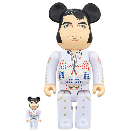 BE@RBRICK ELVIS PRESLEY 100% & 400%《Planned to be shipped in late December 2019》